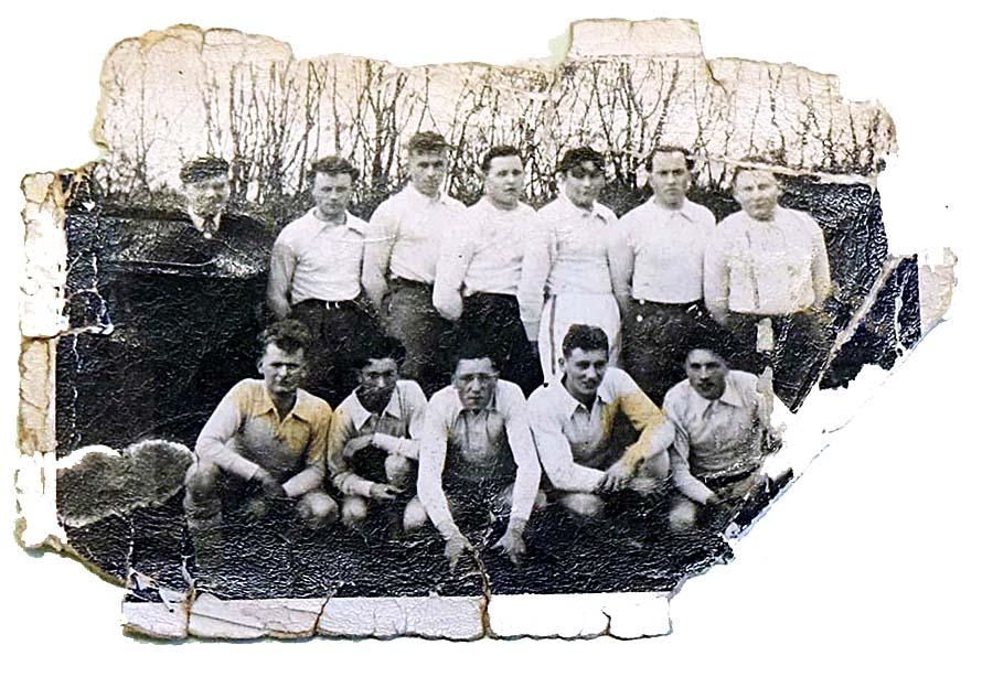 Première équipe du Foyer 1949-1950